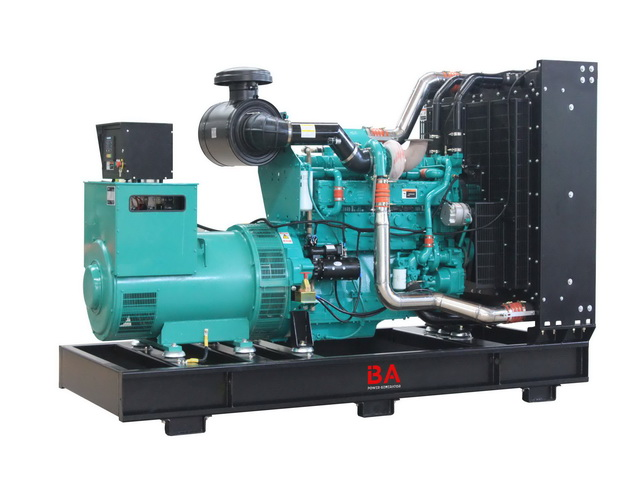 25kva to 500kva Cummins Power Generator open and silent type